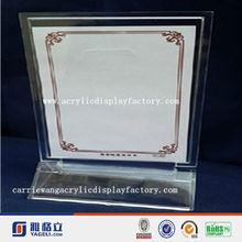 China suppier Anhui factory hot sale A4 size best price restaurant menu holder