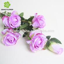 Wedding car decoration silk rose marking,artificial rose for wedding car