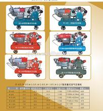 High quality best seller ac power or diesel engine air compressor price list