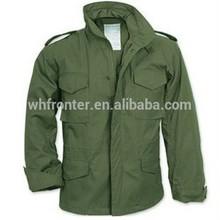 M65 militar campo land jaqueta de Nylon 50% e Cotton50 % à prova d ' água com forro