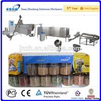 Full automatic pet food pellet extruder processing equipment