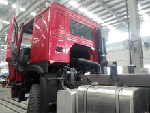 HOWO DUMP TRUCK 2012 model, Red color