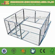 Hot Sale !! 80x80cmx8 Panels Metal Rabbit Playpen Exercise Pen Cage