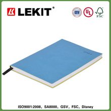 Leather soft cover case bound school diary 2014