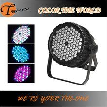 waterproof 84x5w rgbw led disco project light