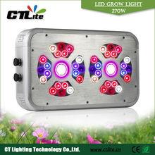 2014 hot sale high light intensity aluminum full spectrum 400w led grow light