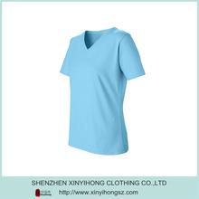 Smart Blue Dri Fit Spandex Sexy Fitness T Shirt Manufacturer Companies
