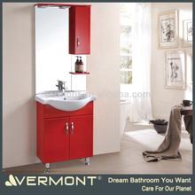 red color ganesha glass painting modern bathroom vanity home furniture