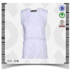 2015 latest new model SGS certified Night Fashion design lace white dress