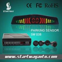 Auto reversing aid ideal car parking system parking sensor with radar detector