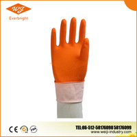High quality family use long sleeve rubber gloves