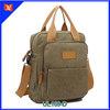 Top popular custom canvas backpack useful hand bag for man