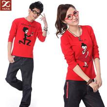 custom design cheap couple t shirt