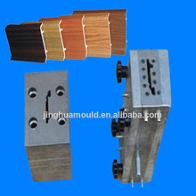 plastic skirting extruder/skirting profile mould/vinyl skirting mould