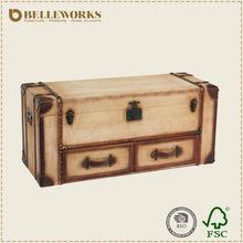 Wholesale antique wooden chest/antique trunk