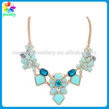 Fashion jewelry crystal bubble bead necklace sri lankan wedding necklace designs