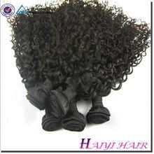 Factory Virgin Hair Weave Blonde Deep Curly