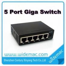 5 ports Gigabit Ethernet switch, 5 ports Giga switch, Mini Giga Switch(TH-1005G)