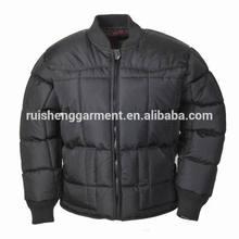 Custom high quality lightweight winter man padding jacket
