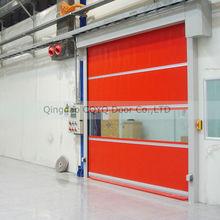 Roll Up Fast Door Fabric/ Industrial Roller Shutter High Speed Door CE approved/High Speed Door