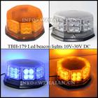 Hexagon led lights beacon magnet base cigarette plug TBH-179