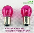 XENCN P27W(S25) BA15s 12V 27W Amber/Pink/Green/Blue/Purple /Red Car External Lights Turn Signals Additional Brake Lights