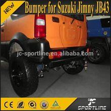 pu gris jimny parachoques trasero para suzuki jimny jb33 jb43 estilo de apio