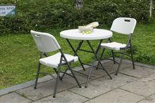 outdoor plastic folding bar table,HDPE,plastic