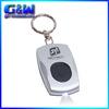 High-quality LED Key Tag Light keychain metal new year Promotional custom logo car keyrings