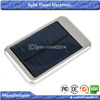 Solar Panel Electric Power Bank 5000mAh PDA Solar Power Charger for Mobile Cell Phone