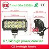 7 inch 36w led light bar 2520lm 6 * 3W high power led headlamp offroad led light bar