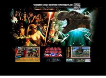 5D stereoscopic cinema R & D Center Games and entertainment, interactive cinema