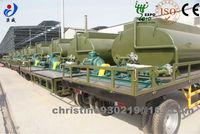 China Manufacture customer trailer car trailer storage tanks portable water tank trailer