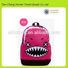 denti di squalo 2014 nuovo stile sacchetto di scuola zaino scuola di moda borsa del computer portatile per gli studenti delle scuole superiori