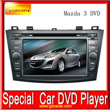 Hot sale car DVD navigation system touch screen car dvd player for Mazda 3
