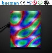 full color display/board Leeman double sided rotating advertising outdoor led billboard p10 led display aluminium profile