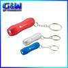 Wholesale keyring LED mini flashlights Yiwu Factory direct keychain manufacturers in china pharmaceutical promotional gifts