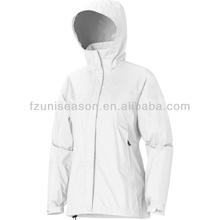 Light weight white windbreaker wind stop jacket