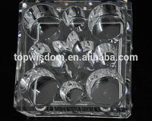 super calidad de promoción de acrílico de esmalte de uñas opi organizador