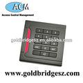 Única porta de bloqueio eletrônico leitor de teclado numérico teclas de função ACM207H
