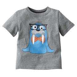BYM 5243 baby boy short sleeve T-shirt