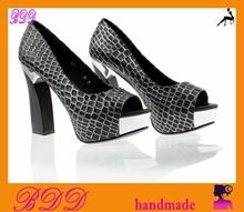 custom made elegant dress evening shoes for women