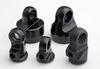 OEM black satin and matt anodizing aluminum cnc turning parts