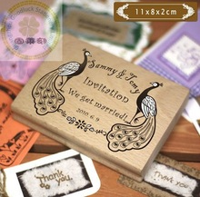 2014 Portable wooden stamp for teaching/Portable wooden stamp wholesale in China