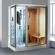 FC-SN02 wood steam sauna room sauna steam shower room steam and sauna rooms