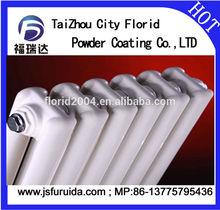 Spray coated White color polyester epoxy florid powder coating for heating radiator spray powder coating