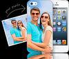 MOQ 1 PCS custom plastic for iphone 5 case