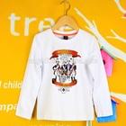 bulk chinese brand kids long sleeve round neck t shirt