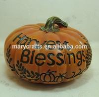 Terracotta pumpkin/ harvest blessing