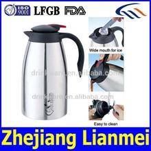 2014 new style stainless steel tea pot, double wall vacuum tea pot set, arabian tea pot